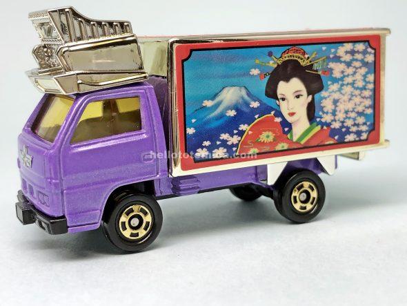 98-3 いすゞエルフ パネルトラック「夢・玩具道」 はるてんのトミカ