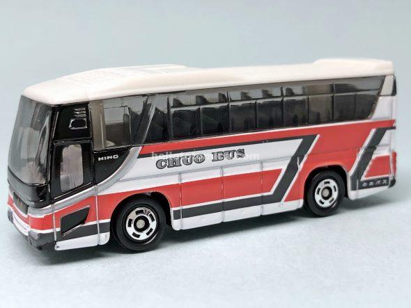 101-5 日野 セレガ 北海道中央バス株式会社 はるてんのトミカ