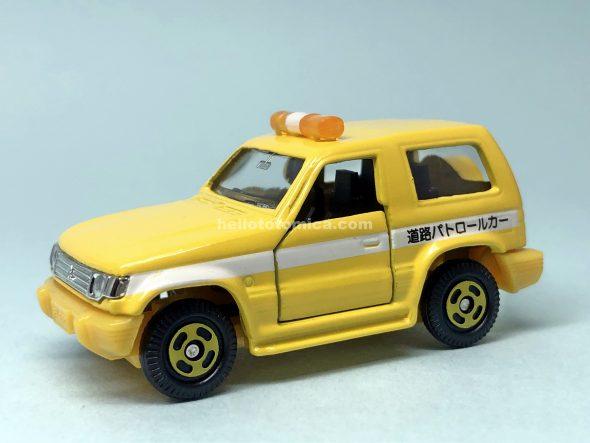 106-3 三菱パジェロ 道路公団パトロールカー はるてんのトミカ