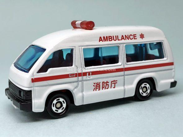 36-3 ハイエース 救急車 はるてんのトミカ