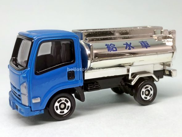 57-5 いすゞ エルフ 給水車 はるてんのトミカ