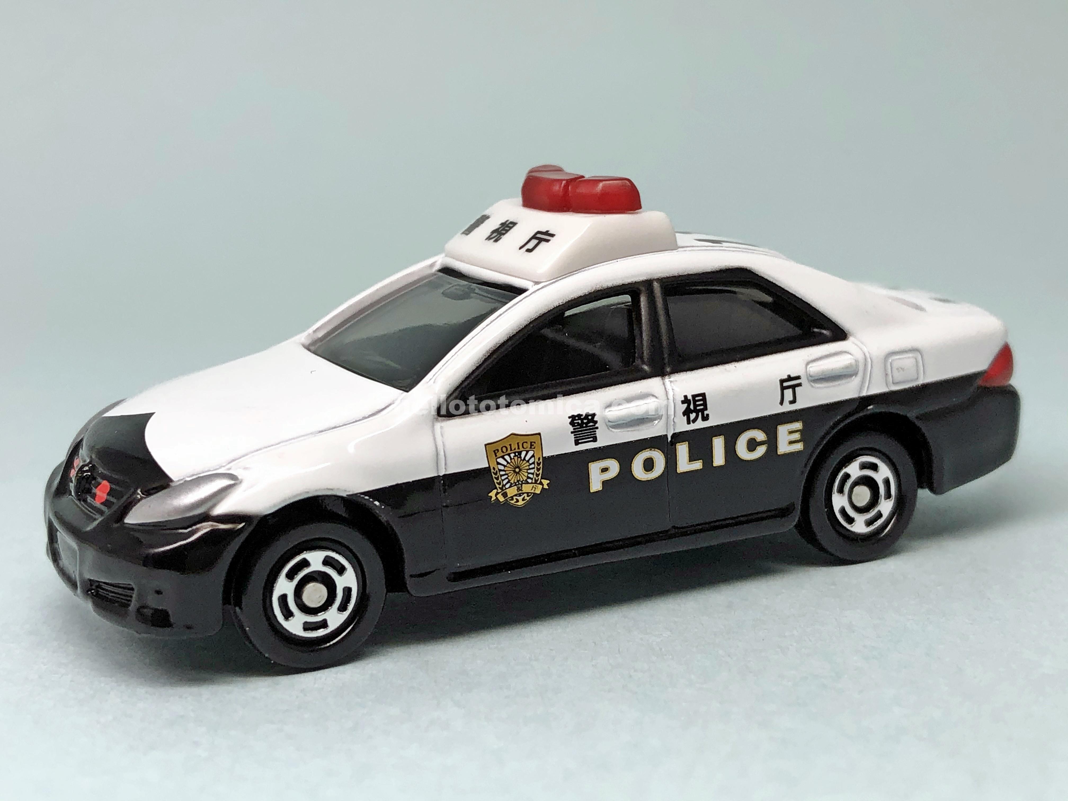 110-6 Toyota CROWN PATROL CAR