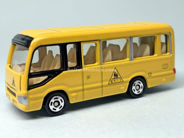 49-9 Toyota COASTER KINDERGARTEN BUS はるてんのトミカ