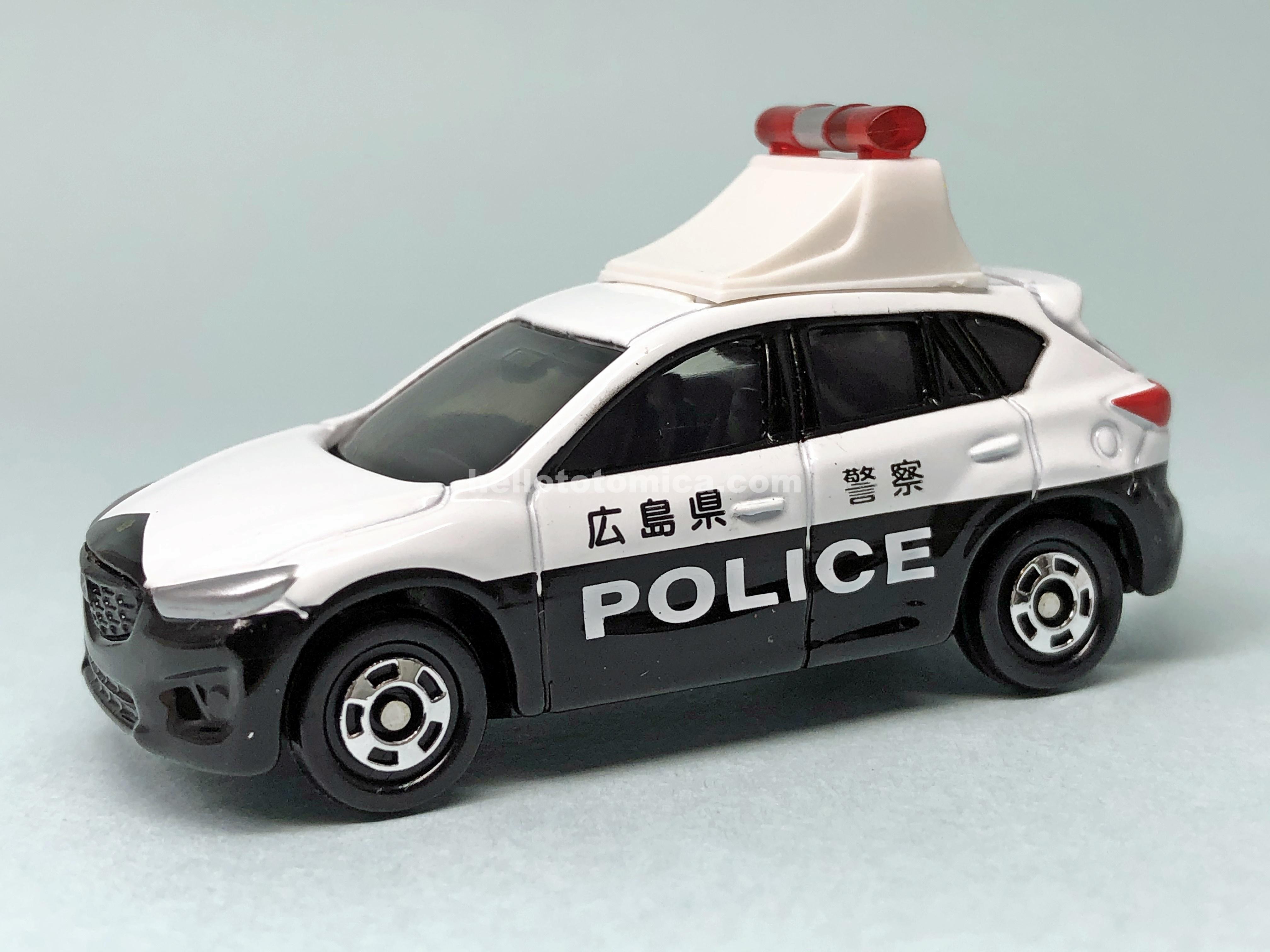 82-7 MAZDA CX-5 POLICE CAR
