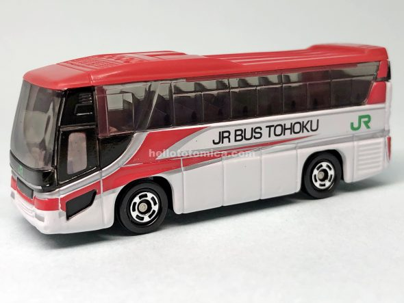 72-6 HINO S'ELEGA JR BUS TOUHOKU KOMACHI COLOR はるてんのトミカ
