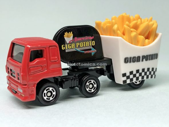55-10 ISUZU GIGA FRIED POTATO CAR はるてんのトミカ