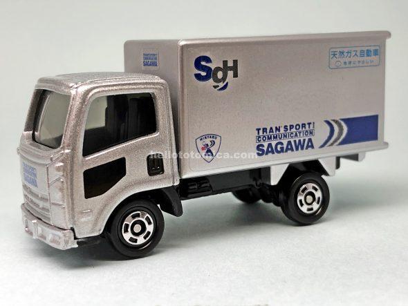 59-4 ISUZU ELF SAGAWA EXPRESS はるてんのトミカ