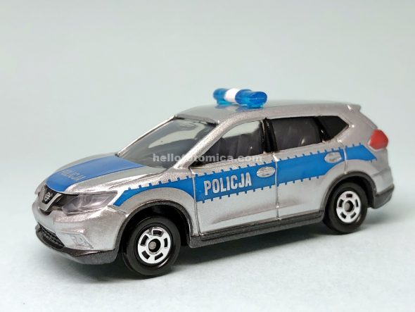 1-6 NISSAN X-TRAIL POLICE CAR はるてんのトミカ