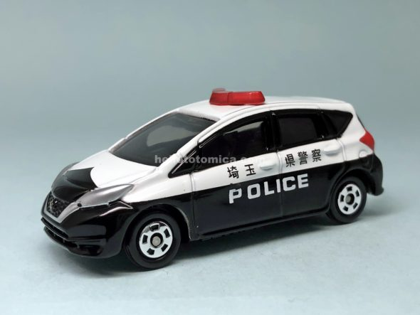 21-10 NISSAN NOTE POLICE CAR はるてんのトミカ