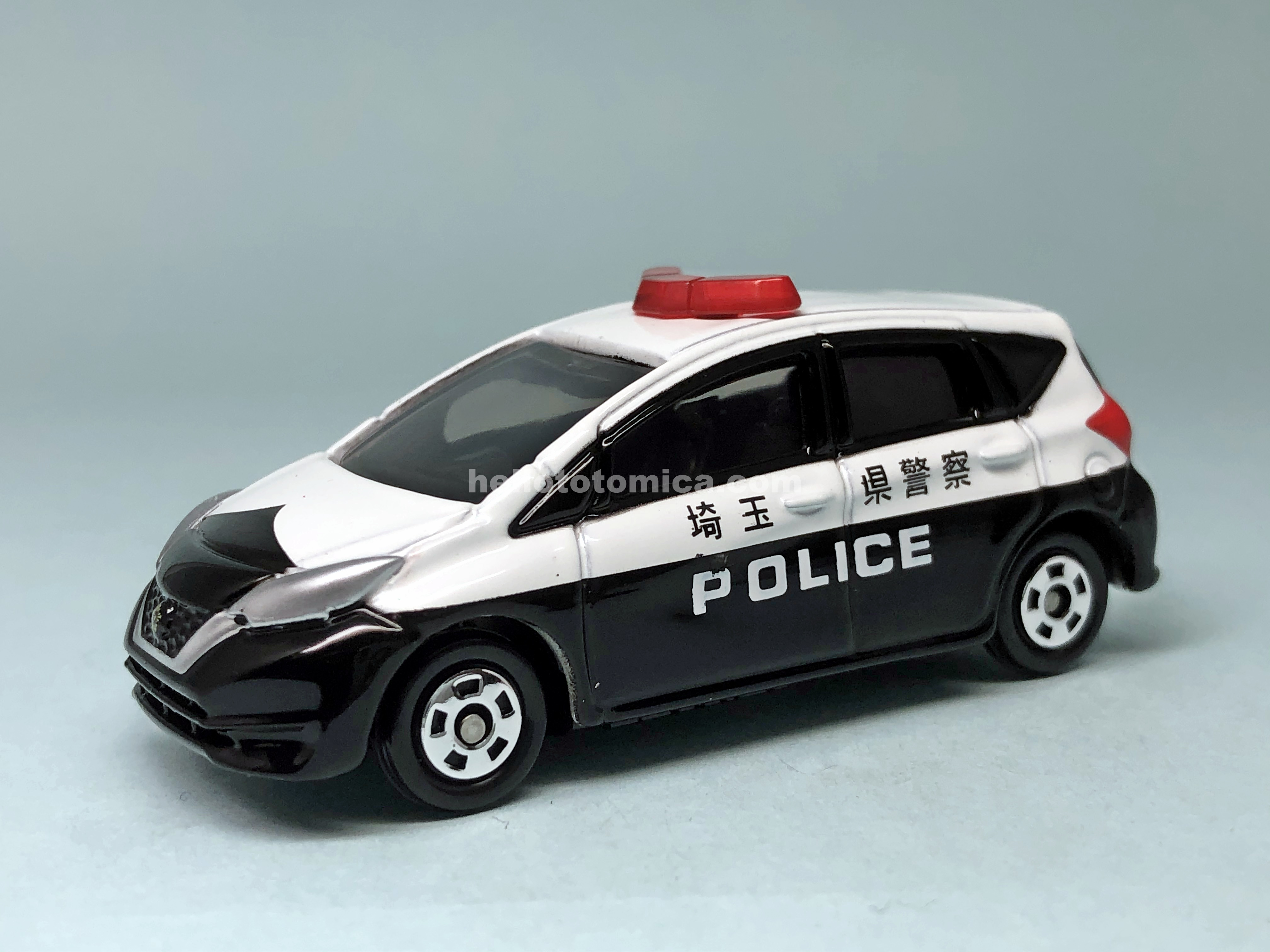21-10 NISSAN NOTE POLICE CAR