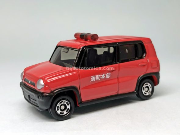 106-9 SUZUKI HUSTLER FIRE COMMAND VEHICLE はるてんのトミカ