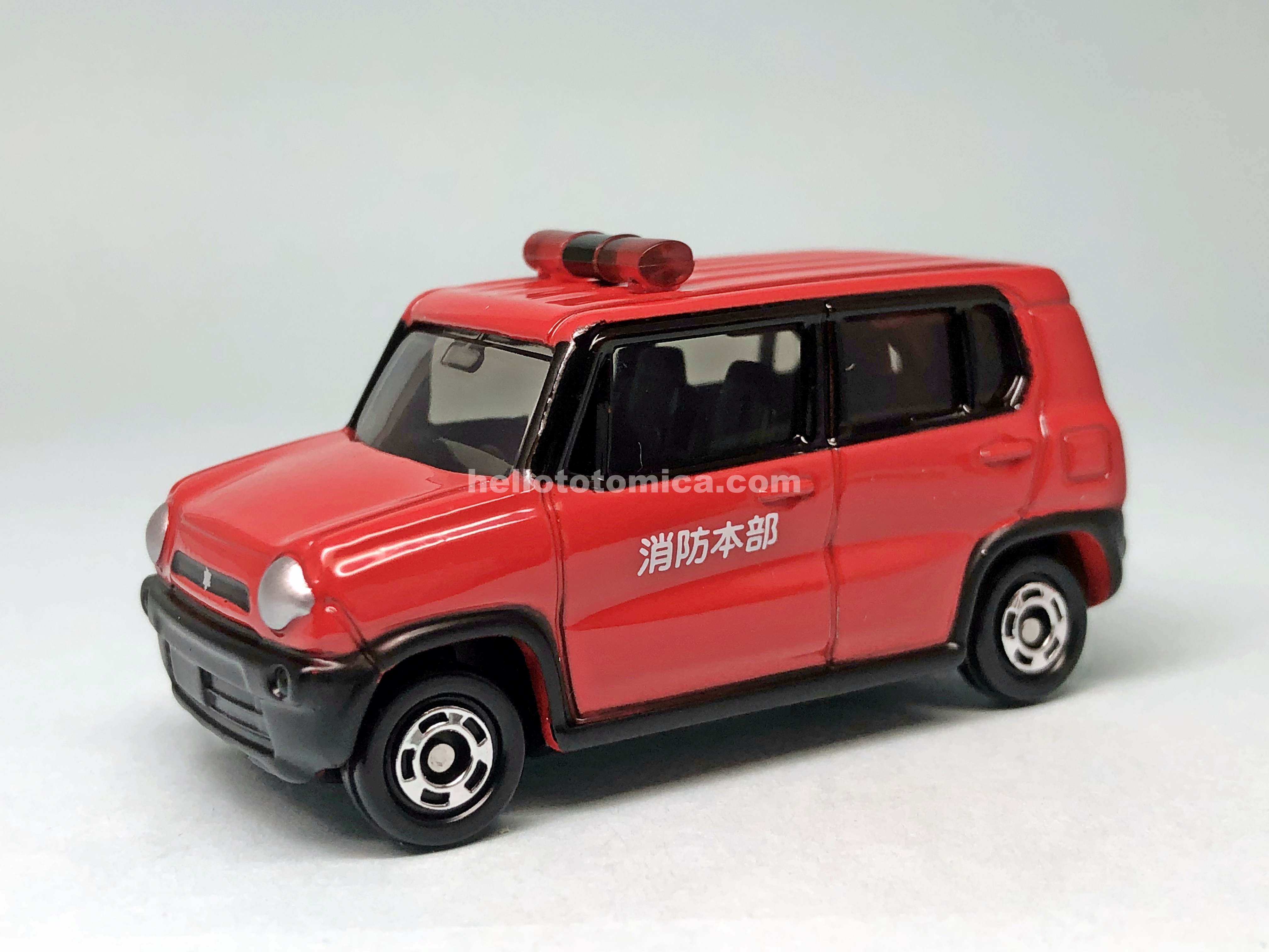 106-9 SUZUKI HUSTLER FIRE COMMAND VEHICLE