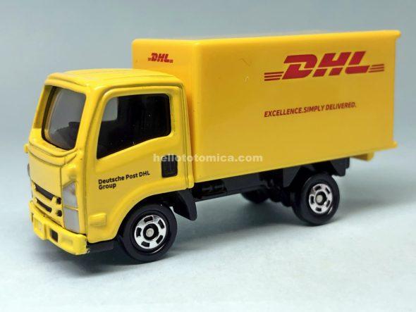 109-9 DHL トラック はるてんのトミカ