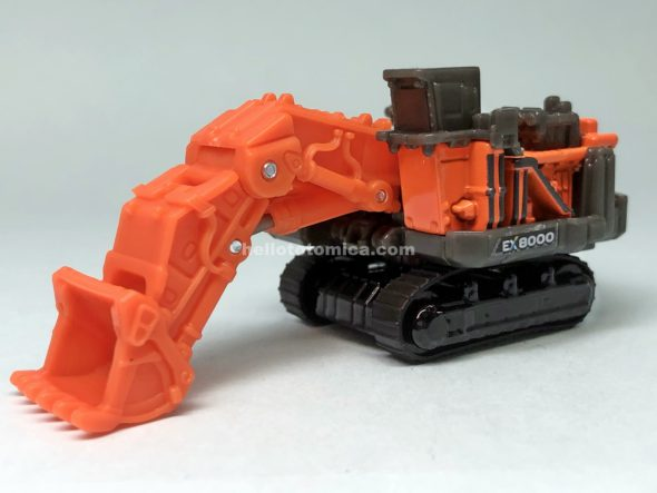 25-6 HITACHI LOADING SHOVEL EX8000-7 はるてんのトミカ