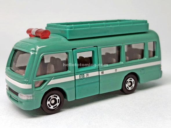38-7 MOBILE RESCUE BUS はるてんのトミカ
